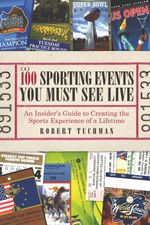 100SportingEventsYouMustSeeLive book cover