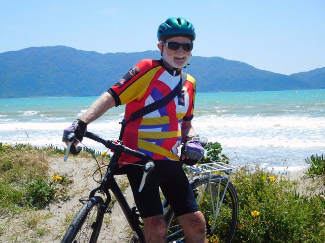 Arthur's charity bike ride worldwide