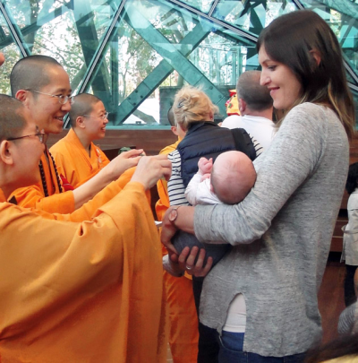 the annual Buddhist Day and Festival at Federation Square