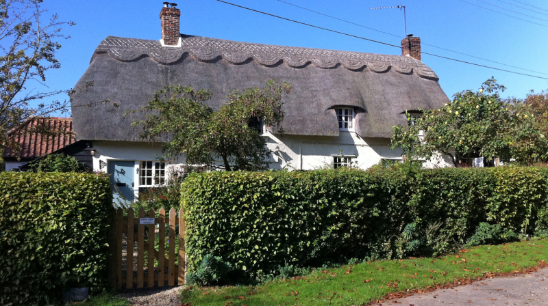 English cottage home swap