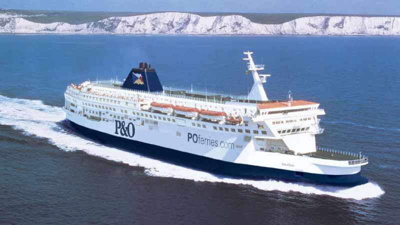 P-and-o-ferry